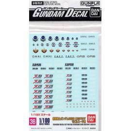 Gundam Seed Destiny Decal