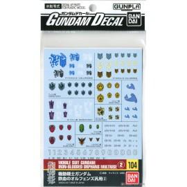 Gundam Iron Blooded Multiuse 1 Decal