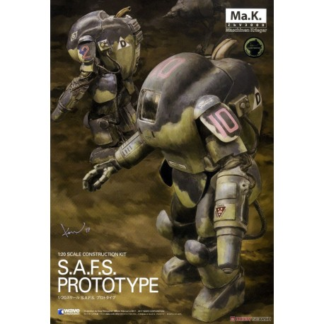SAFS Fireball 1/20 Ma.K