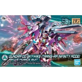 Gundam 00 Sky HWS Trans Am HG