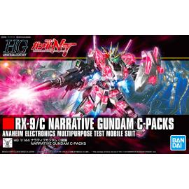 Gundam Narrative C Packs HG